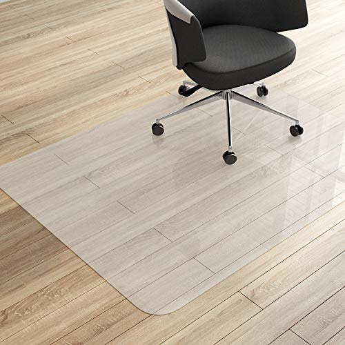 MVPOWER Office Chair Mat - 48 x 36 inches for Hard Floor Protection Clear Multi-Purpose PVC Office Floor Mats