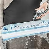 Dingyue Protector contra salpicaduras de agua premium para fregaderos de cocina, baño e isla 17,5 L...