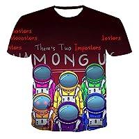 2021夏の新しい3DプリントTシャツアニメ漫画ゲーム男の子と女の子