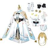 Genshin Impact Lumine Cosplay Disfraz Vestido de Fiesta Anime Juego Carnaval Halloween Escenario espectáculo Uniforme