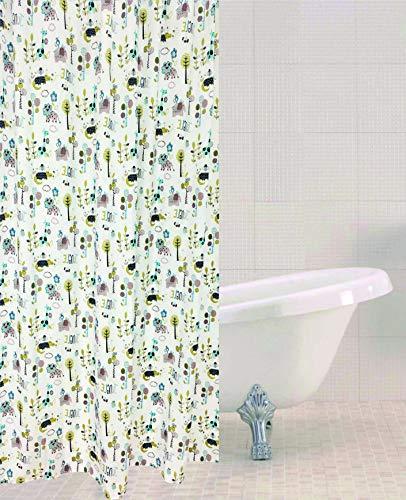 Sabichi Jungle Town Duschvorhang aus Polyester