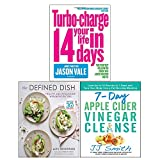 Defined Dish, The [Hardcover], 7-Day Apple Cider Vinegar Cleanse, Turbo-Charge Your Life in 14 Days 3 Books Collection Set