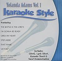 Daywind Karaoke Style: Yolanda Adams Vol. 1 by Yolanda Adams (2011-05-06)