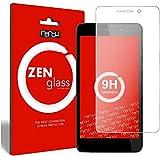 ZenGlass (2 Stück Flexible Glas-Folie kompatibel mit Wiko Pulp FAB 4G Panzerfolie I Bildschirm-Schutzfolie 9H