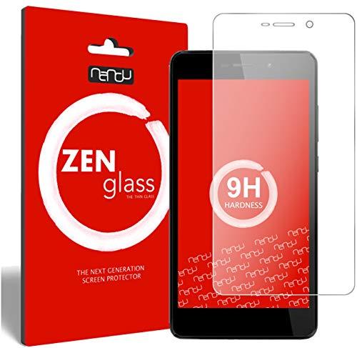 ZenGlass Flexible Glas-Folie kompatibel mit Wiko Pulp FAB 4G Panzerfolie I Bildschirm-Schutzfolie 9H