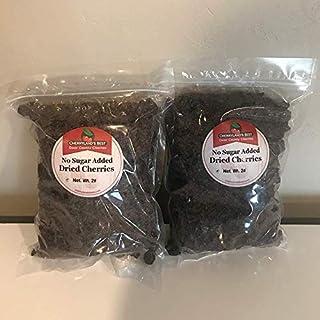 No Sugar Added Dried Tart Cherries, Two 2 lb. bags