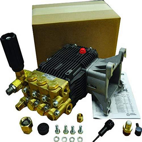 AR Annovi Reverberi RKV4G40-PKG AR North America Triplex Plunger Pump, GPM 4.0, 3400 RPM, Unloader, 4000 PSI + Package, Metalic