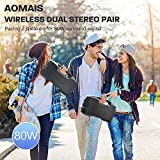Photo #5: AOMAIS GO Bluetooth Outdoor Speakers with 40H Playtime, IPX7 Certificate