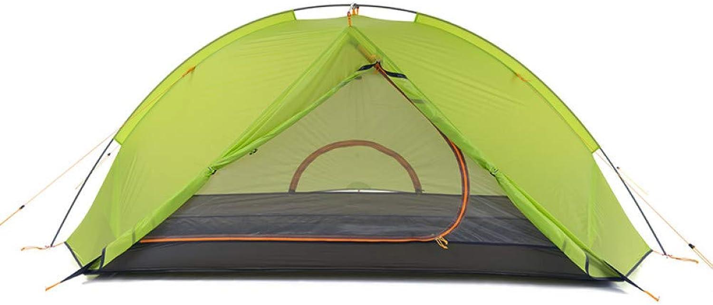 BUYGLI Tent 1 Personenzelte im Freien kampierende Ausrüstung, die Tourismus wandert 2 Personenzelt wasserdicht mit freier Matte