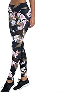 Beiziml Womens Yoga Pants Fitness Leggings Sports Pants Workout Elastic Printing Pants Running Sweatpants Gym Sportswear L...