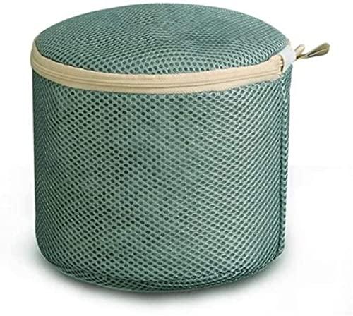 ブラ用ランドリーバッグ、シリンダー形状、変形やもつれを防ぎます、サイズ直径17cmx高さ15cm、ランドリーネット、ブラ、変形防止、洗濯バッグ、細かいメッシュ、引っかき傷防止、洗濯機、旅行用品、ブラ、 スキンウェア、洗濯機で洗えます