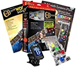 Chord Buddy Worship Edition Guitar Training Device Teaching Aid with Gospel Songbook, Lessons and Tuner