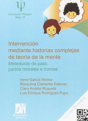 Intervención mediante historias complejas de teoría de la mente: 17 (Psique)
