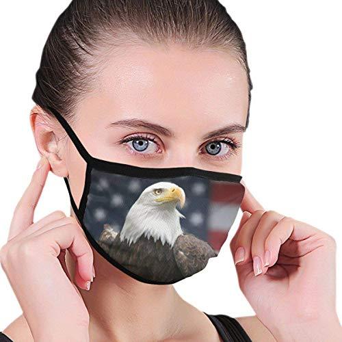 LONGCHEN Eagle USA Flaggen protección facial Gafas de sol Frente Bufanda Mujeres Hombres Exterior