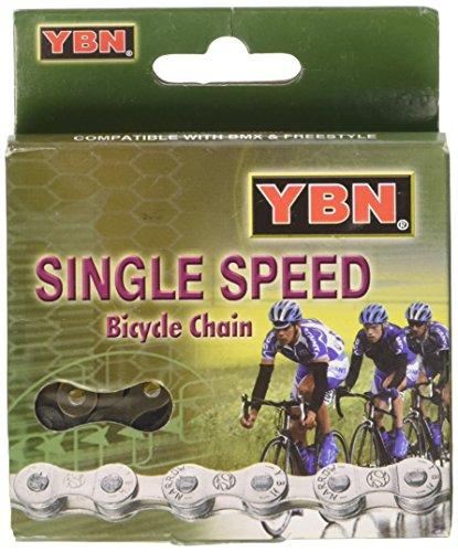 Fahrradkette YBN Touren-Single Speed S410, silber - 2