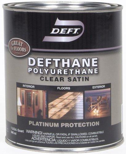 Deft Defthane Interior Exterior Clear Polyurethane Satin,...