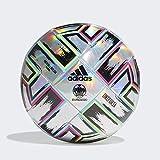 adidas UNIFO TRN Balón de Fútbol, Men's, Silver Met./Signal Green/Bright Cyan/Shock Pink, 5