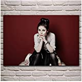 Lena Meyer landrut Girl Singer Portrait Canvas Paintings,