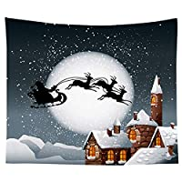 95cm * 73cmクリスマスタペストリー寮の部屋装飾背景布の写真の背景 写真スタジオの写真の小道具 (Color : L, Size : One size)