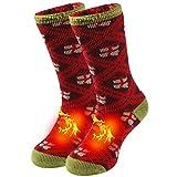 Mens Outdoor Slipper Socks, Sunew Heat Trapping Winter Calf High...