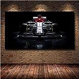 Formel 1 Auto Kimi Räikkönen Druck Leinwand Gemälde