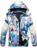 Wantdo Women's Ski Snowboarding Jacket Waterproof Warm Winter Windproof Coat Mountain Flora M