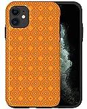 CASFY - Funda para teléfono compatible con iPhone 11, diseño de Navajo retro naranja KU109_5