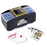 WYZworks Casino 2 Deck Automatic Playing Card Shuffler (Cards not Included)