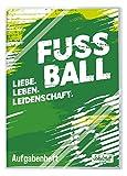 Schulstuff by Häfft: Aufgabenheft [Fußball] mit transparentem Schutzumschlag, 4-farbig, Hausaufgabenheft für ein ganzes Schuljahr