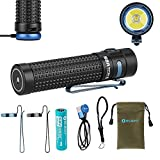 Olight S2R II Baton 1150 Lumen Rechargeable LED Flashlight Side-switch EDC with one customized 3200mAh 18650 Battery, USB Magnetic Charging Cable (MCC II) and LegionArms Sticker