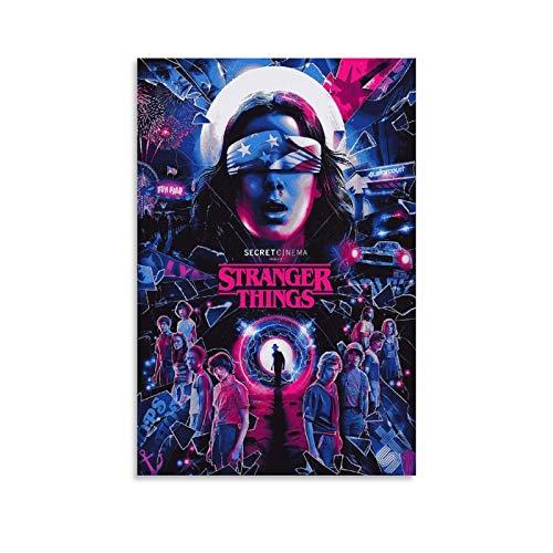 LIANGBO Stranger Things 4 Wallpaper HD - Póster artístico para pared (30 x 45 cm)