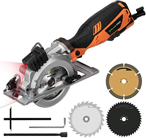 Mini Scie Circulaire Laser GALAX PRO 705W Coupant:...