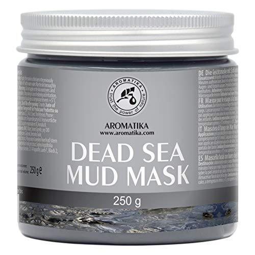 Dødehavsslam for ansikt og kropp - Rik på mineraler - Reduserer rynker - Muddermaske fra Dødehavet Dyp rensing og hydrater 250g