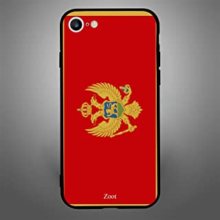 iPhone 6/ 6s Case Cover Montenegro Flag, Zoot Protective Casing Modern Trendy Design Covers & Cases