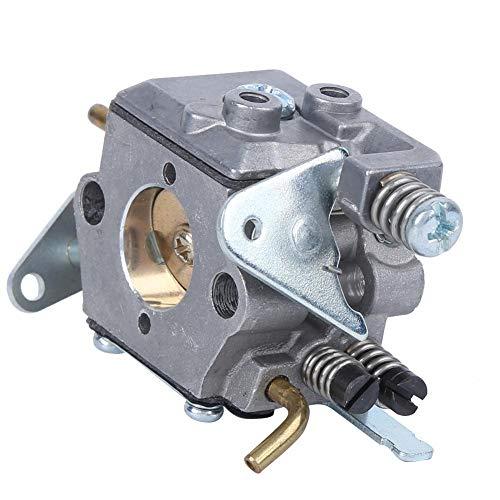 Vergaser mit Kraftstofffilter-Kit Ersatzteile Passend für Walbro Kettensäge Vergaser 42cc, Aluminiumdruckguss, für Rasentraktor Mäher, Kettensäge