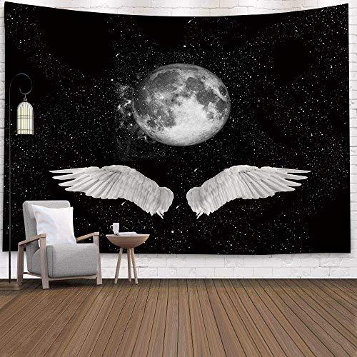 N / A Moon Psychedelic Tapestries Yoga Beach Mat A22 200x150cm