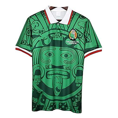 JIEBANG 1998 Copa Mundial De Fútbol México Jersey, México Local/Visitante Retro De...