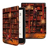 Fintie Hülle kompatibel für Pocketbook Touch HD 3 / Touch Lux 4 / Basic Lux 2 e-Book Reader -...
