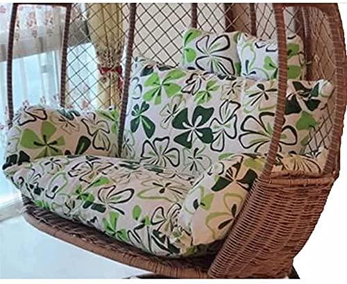 YDuro Cuscino per sedie a Sedia a Battente sospese per mobili da Giardino, Grande Addensare Appeso Uovo Hammock Sedia Cuscino sostituto per Patio