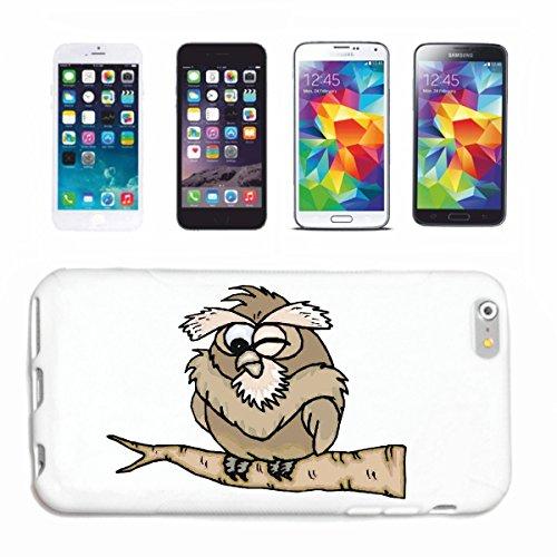 Funda compatible con iPhone 6+ Plus, diseño de búho en ángulo