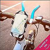 Be-Konect Support Téléphone Moto Vélo Scooter  Restez connectés sur votre moto/vélo - Fixation...