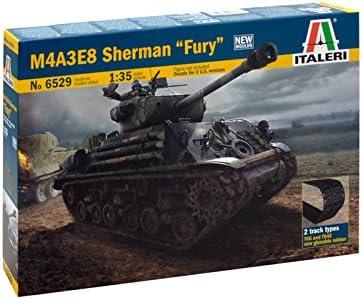 Carson Italeri 1/35 M4A3E8 Sherman Furia # 6529-kits Modelo, plástico product image