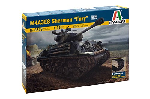 Italeri 6529 - M4a3e8 Sherman 'Fury' Model Kit  Scala 1:35