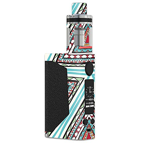 MightySkins Skin Compatible with JoyeTech eVic Primo – Aztec Pyramids | Protective, Durable, and Unique Vinyl Decal wrap Cover | Easy to Apply, Remove, and Change Styles | Made in The USA