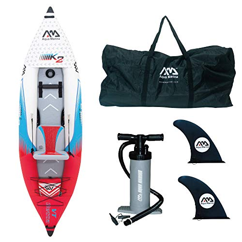 """Kayak inflable Betta VT 2personas 13'6"""" Duradero y resistente (anticorrosivo y anti-UV) Para 2personas Hasta 155kgs Garantía 1año."""
