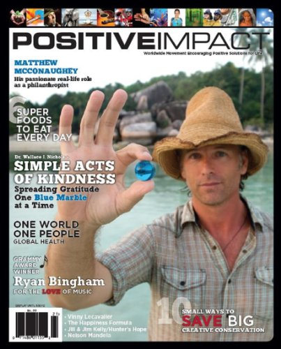 Positive Impact: Inspiring Things Going On In Our World Positivity (English Edition)