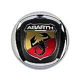 L/&U 2pcs Coche Cromado Insignia del Emblema de la Etiqueta engomada Fender Abarth Italia para Todos Fiat Abarth Punto 124//125//125//500 Car Styling,Style 1