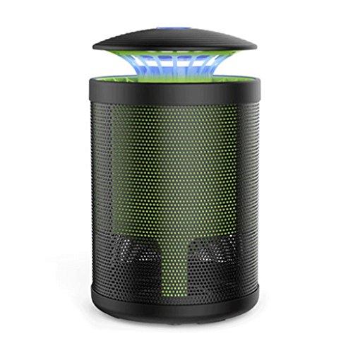 Lampe de moustique Ménage intérieur Répulsif Artifact chambre restaurant sans radiation Plug in Silent Mosquito lampe (Couleur : Noir)