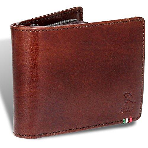 [アーノルドパーマー] 財布 メンズ 二つ折り財布 本革 イタリーレザー APS-3308 (brown)