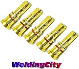 WeldingCity 5-pk Gas Diffusers 4335 for 200-300A Bernard MIG Welding Guns